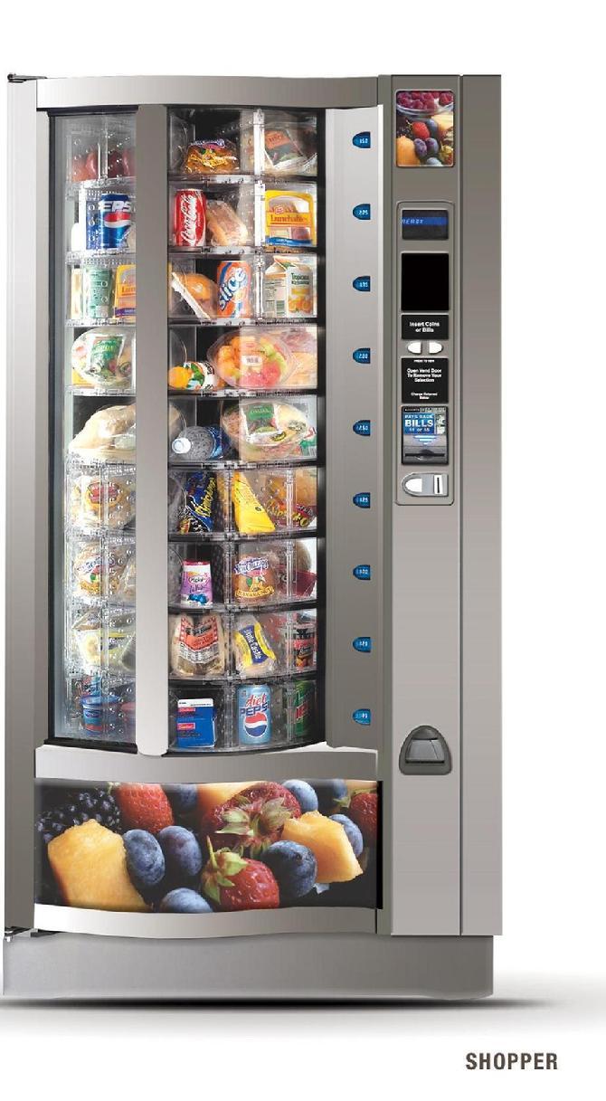 vending machine food distributors